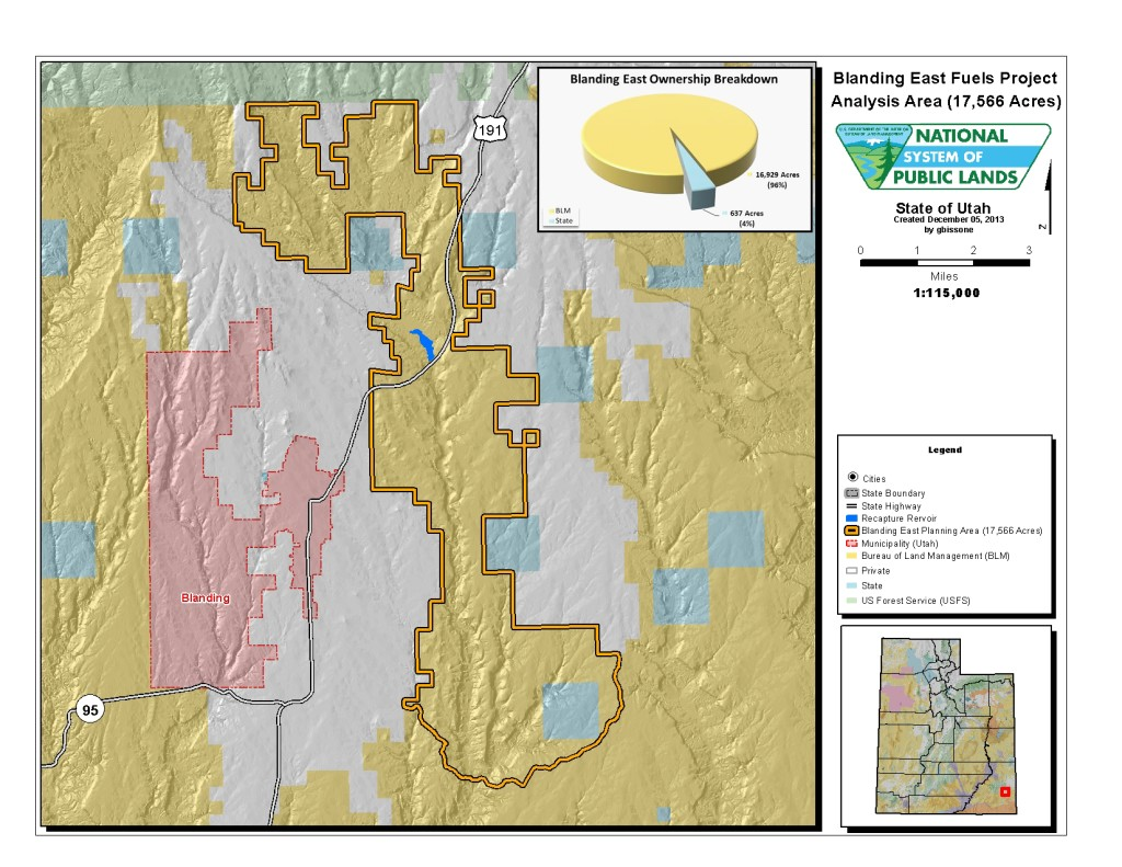 FCM weighs in on fuels reduction project near Blanding ...